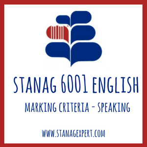 MARKING CRITERIA-SPEAKING