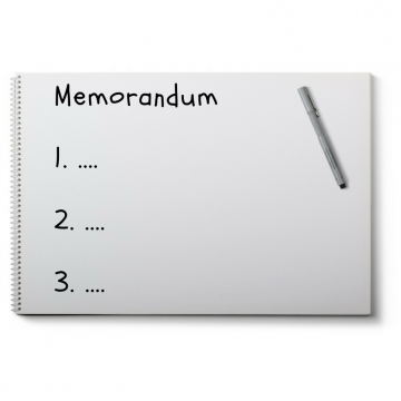HOW TO WRITE A MEMO?