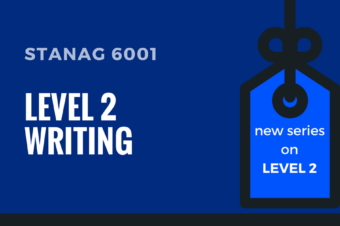 STANAG 6001 LEVEL 2 WRITING