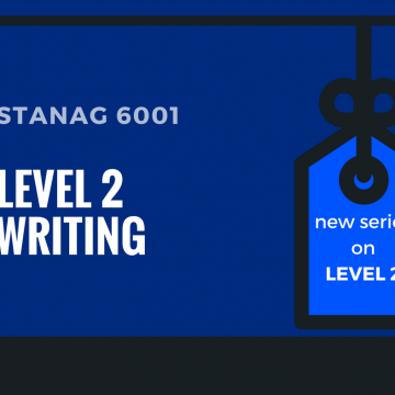 STANAG 6001 LEVEL 2 WRITING