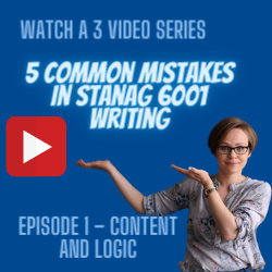 WATCH HOW TO AVOID COMMON MISTAKES IN L3 WRITING